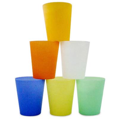 Vasos de plastico reutilizables
